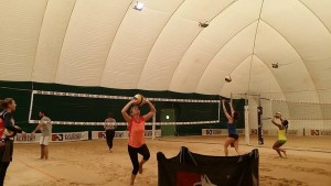 beach volley allenamenti