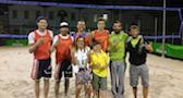 Podio beach volley