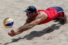 beachvolley players