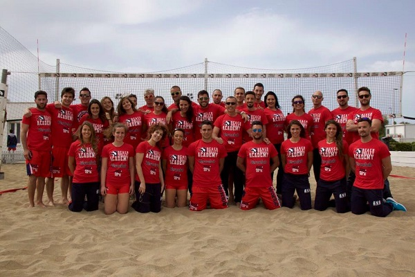 Si parte: il nostro staff alla Beach&Volley School