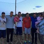 I nostri ragazzi con Coach Mascagna