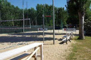 beach volley al lago