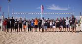 foto di gruppo allenatori beach Volley Academy
