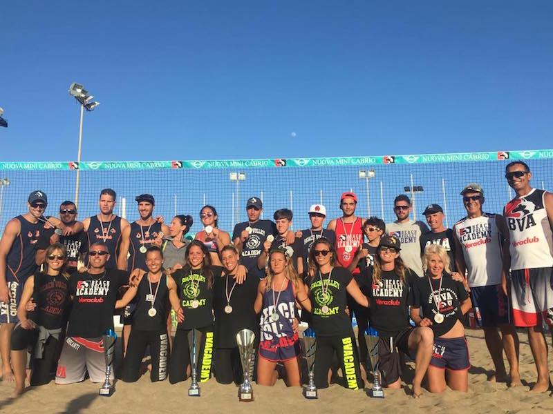 beach volley academy campioni