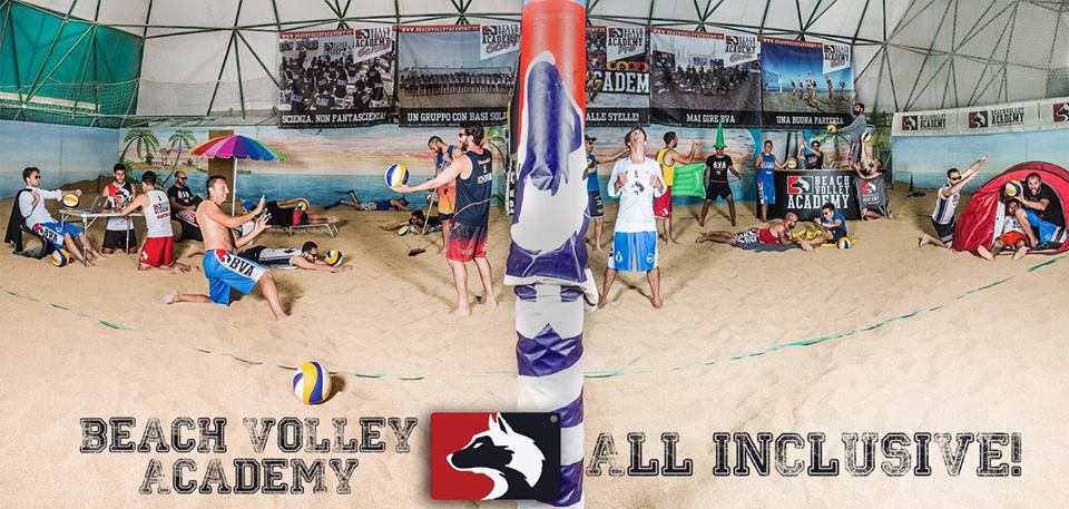 foto vincitrice del photo contest beach volley academy